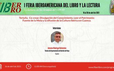Tertulia. Co-crear Divulgación del Conocimiento: Leer el Patrimonio: Fuente de la Mota y la difusión de la Cultura Ibérica en Cuenca.