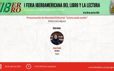 Presentación de Novedad Editorial «Leona anda suelta»