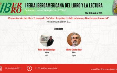 Presentación del libro «Leonardo Da Vinci. Arquitecto del Universo» y «Beethoven Inmortal»