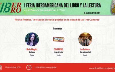 Recital Poético. «Invitación al recital poético en la ciudad de las Tres Culturas»