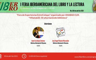 Foro de Experiencias EntreColegas. VillamaLEE: 50 años haciendo biblioteca