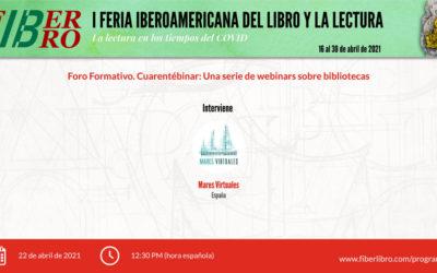 Cuarentébinar: Una serie de webinars sobre bibliotecas