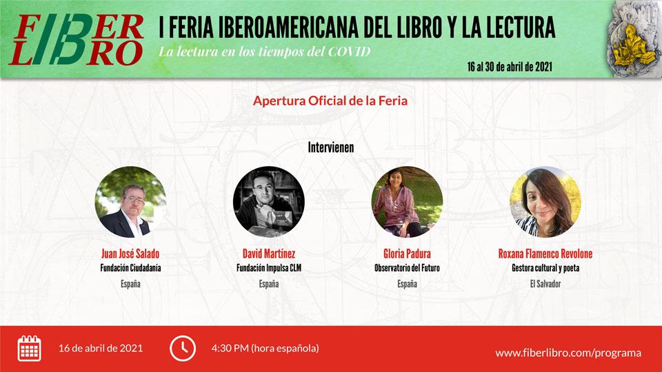 Apertura Oficial de la I Feria Iberoamericana del Libro y la Lectura