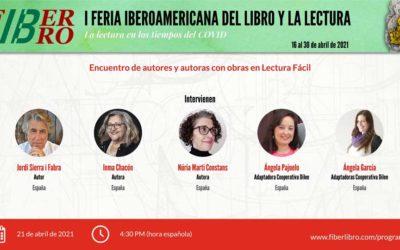 Encuentro de autores y autoras con obras en Lectura Fácil
