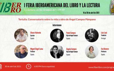 Tertulia. Conversatorio sobre la vida y obra de Ángel Campos Pámpano