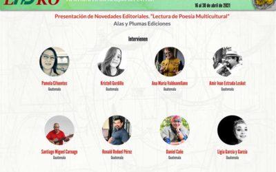 """Presentación de Novedades Editoriales. """"Lectura de Poesía Multicultural"""""""