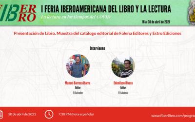 Presentación de Libro. Muestra del catálogo editorial de Falena Editores y Estro Ediciones