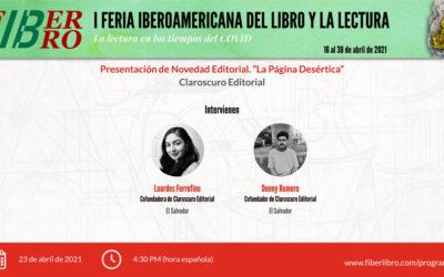 """Presentación de Novedad Editorial. """"La Página Desértica"""""""
