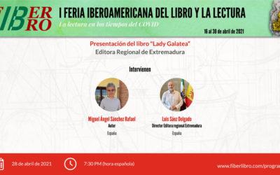 Presentación del libro «Lady Galatea»